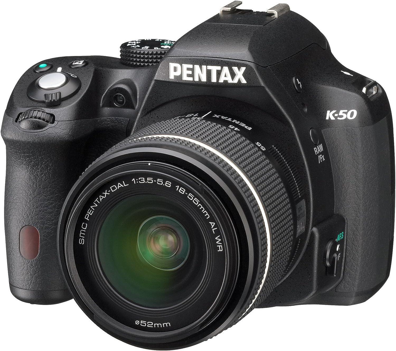 Pentax K50 - Cuerpo de cámara réflex, Negro: Amazon.es: Electrónica