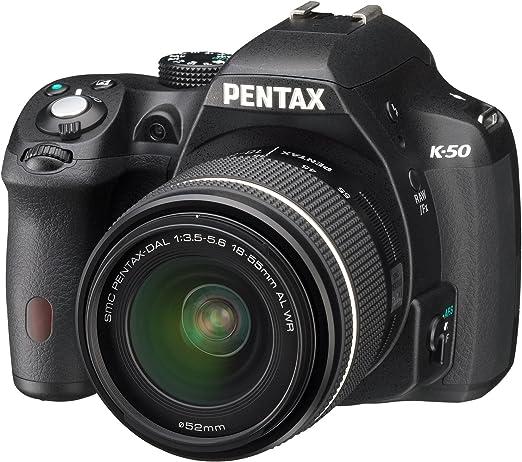 Pentax K 50 Slr Digitalkamera 3 Zoll Schwarz Inkl Kamera