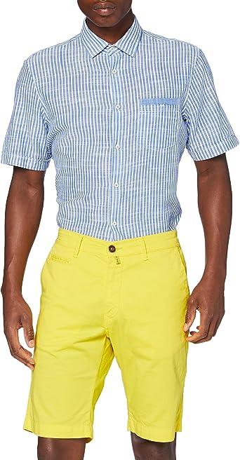 Pierre Cardin Bermuda Cotton Pantalones Cortos, Amarillo, 40 para Hombre: Amazon.es: Ropa y accesorios
