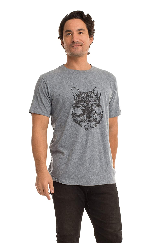 Synergy Organic Clothing Wolf Henry Tee