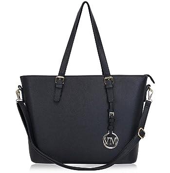 e0c5038033edd Vanessa   Melissa Damen Handtasche Kunstleder Shopper Shopping Bag ...