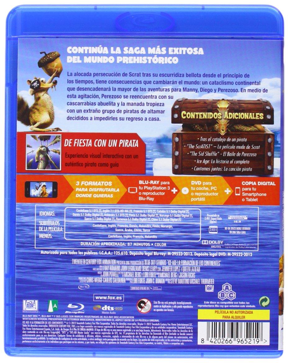 Amazon.com: Ice Age 4 (Blu-Ray + Dvd + Copia Digital) (Blu-Ray) (Import Movie) (European Format - Zone B2) (2012) Animació: Movies & TV