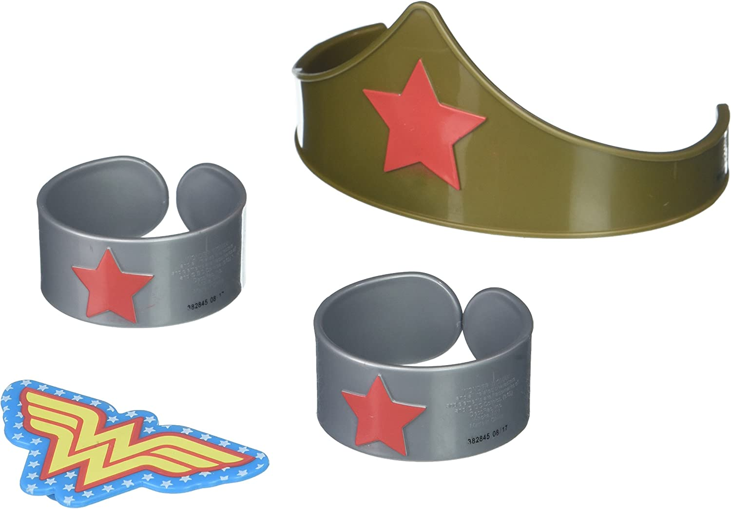 DecoPac 7222, Wonder Woman Strength and Power Cake Toppers