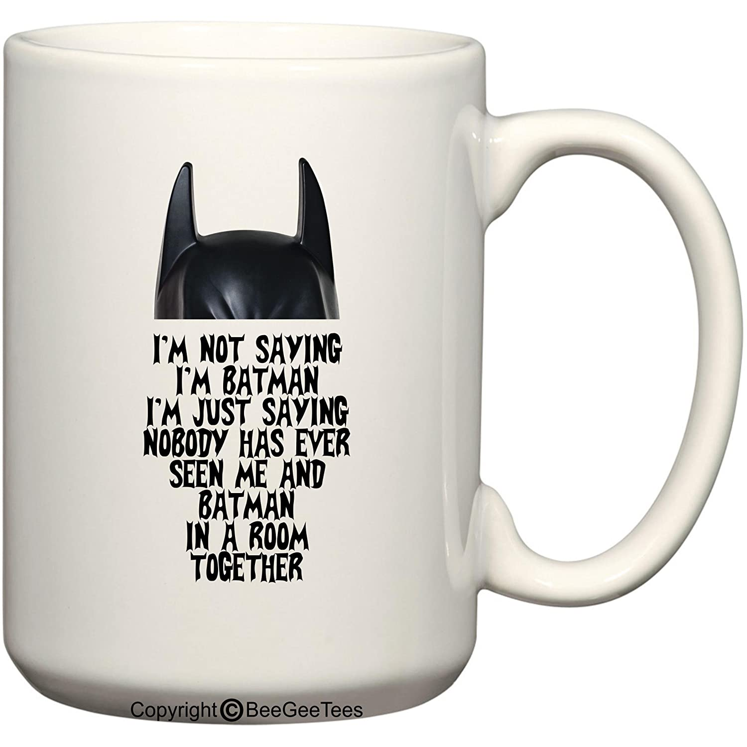 office space coffee mug. Amazon.com: I\u0027m Not Saying Batman - 15 Oz Mug By BeeGeeTees®: Kitchen \u0026 Dining Office Space Coffee