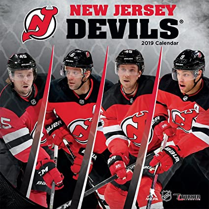 new product 7fc45 ef0c1 Amazon.com: Turner Sport New Jersey Devils 2019 12X12 Team ...