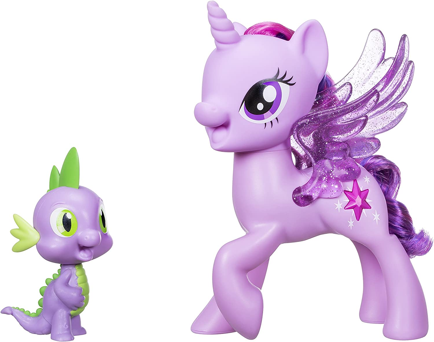 My Little Pony Mi Princesa de Twilight Sparkle Espiga El Dragón Amistad Duet
