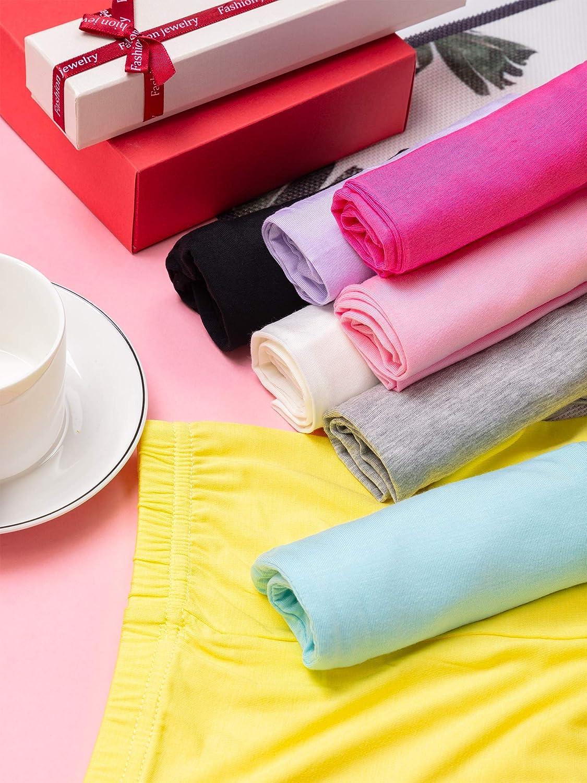 8 Pieces Girls Capris Leggings Cotton Summer Leggings for School Wearing 8 Color
