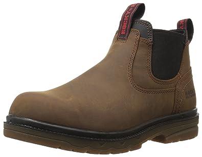 c56dc410387 Amazon.com: Rocky Men's RKK0158 Construction Boot, Brown, 11 M US: Shoes