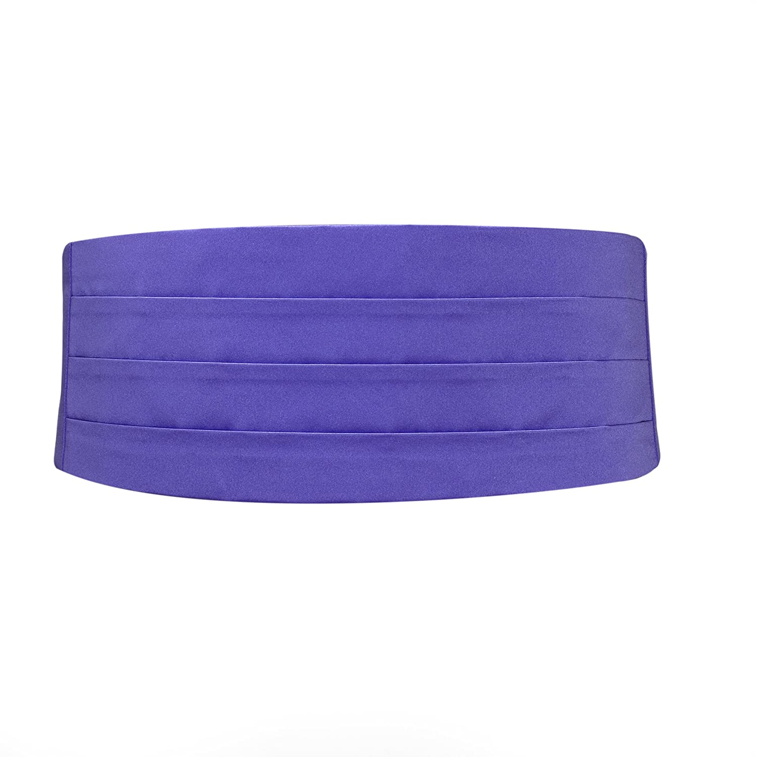 Purple Satin Cummerbund