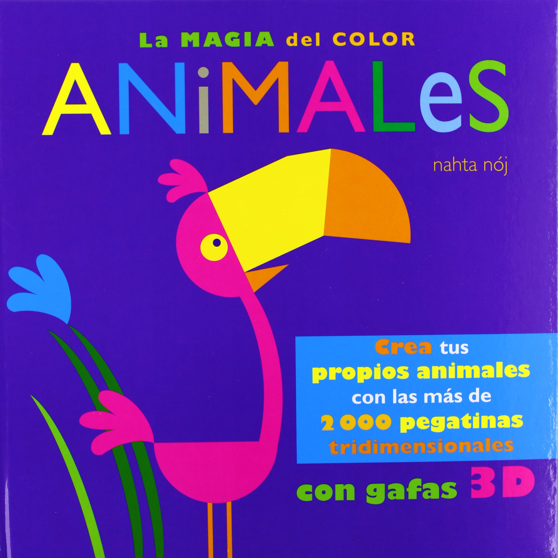 La magia del color. Animales: AA.VV: 9788415430131: Amazon ...