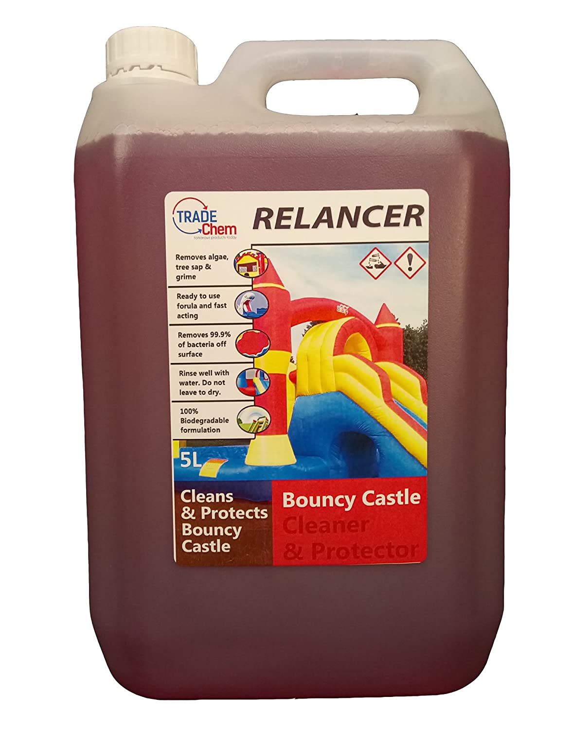 Relancer Heavy Duty castillo hinchable inflable, limpiador ...