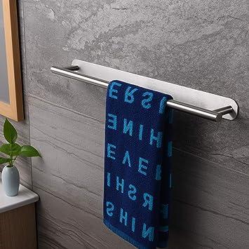 ZUNTO Selbstklebend Handtuchhalter Edelstahl Handtuchstange 40cm Ohne Bohren Badetuchhalter Bad und K/üche