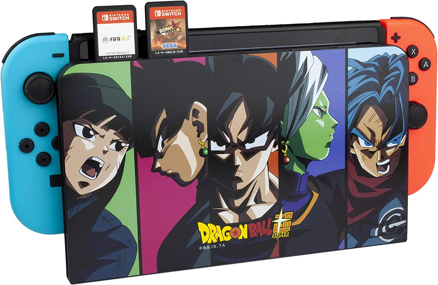 FR·TEC - Switch Dock Cover Dragon Ball Super - Nintendo Switch: Amazon.es: Videojuegos