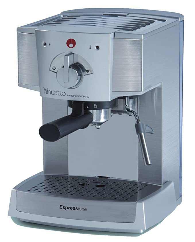 Amazon.com: Espressione Cafe Minuetto, Plateado: Kitchen ...