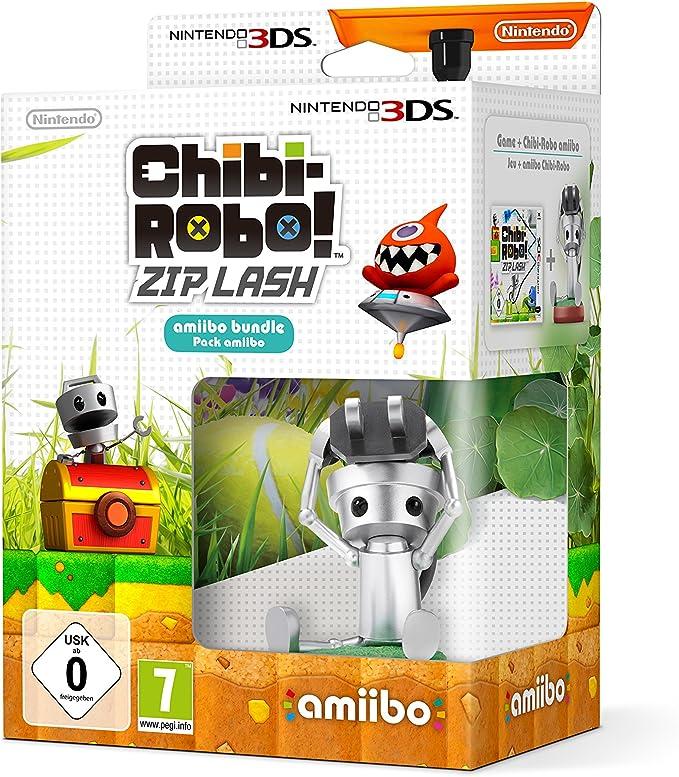 Nintendo Amiibo Chibi-Robo Pack + Chibi Robo! Zip Lash - Juego (Nintendo 3DS, Soporte físico, Plataforma, Nintendo, 06/11/2015, PG (Guía parental)): Amazon.es ...