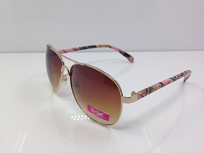 Amazon.com: anteojos de sol Aviators camuflaje con lentes ...