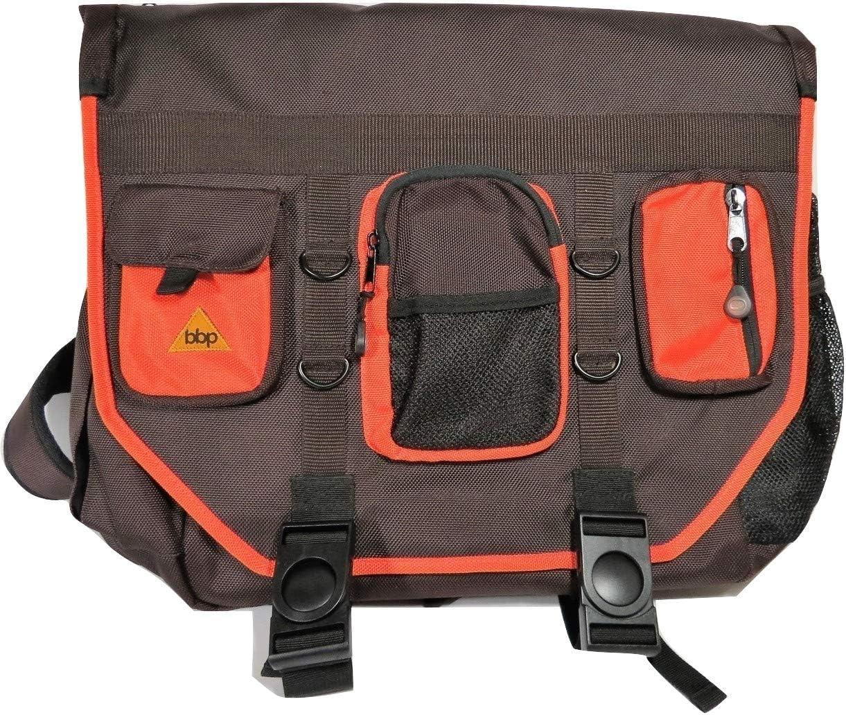 Amazon Com Bumbakpak Hamptons Hybrid Messenger Backpack Laptop Bag Chocotango Large Computers Accessories