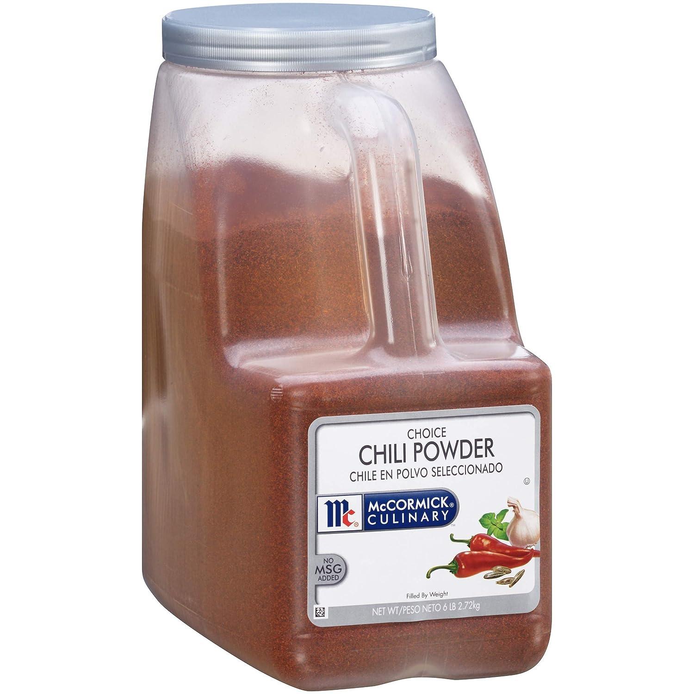 McCormick Culinary Choice Chili Powder, 6 lbs