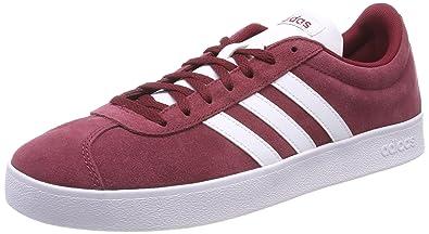 26e040a7fd6e3d adidas Jungen VL Court 2.0 Fitnessschuhe Rot (Buruni Ftwbla Negbas 000) 36