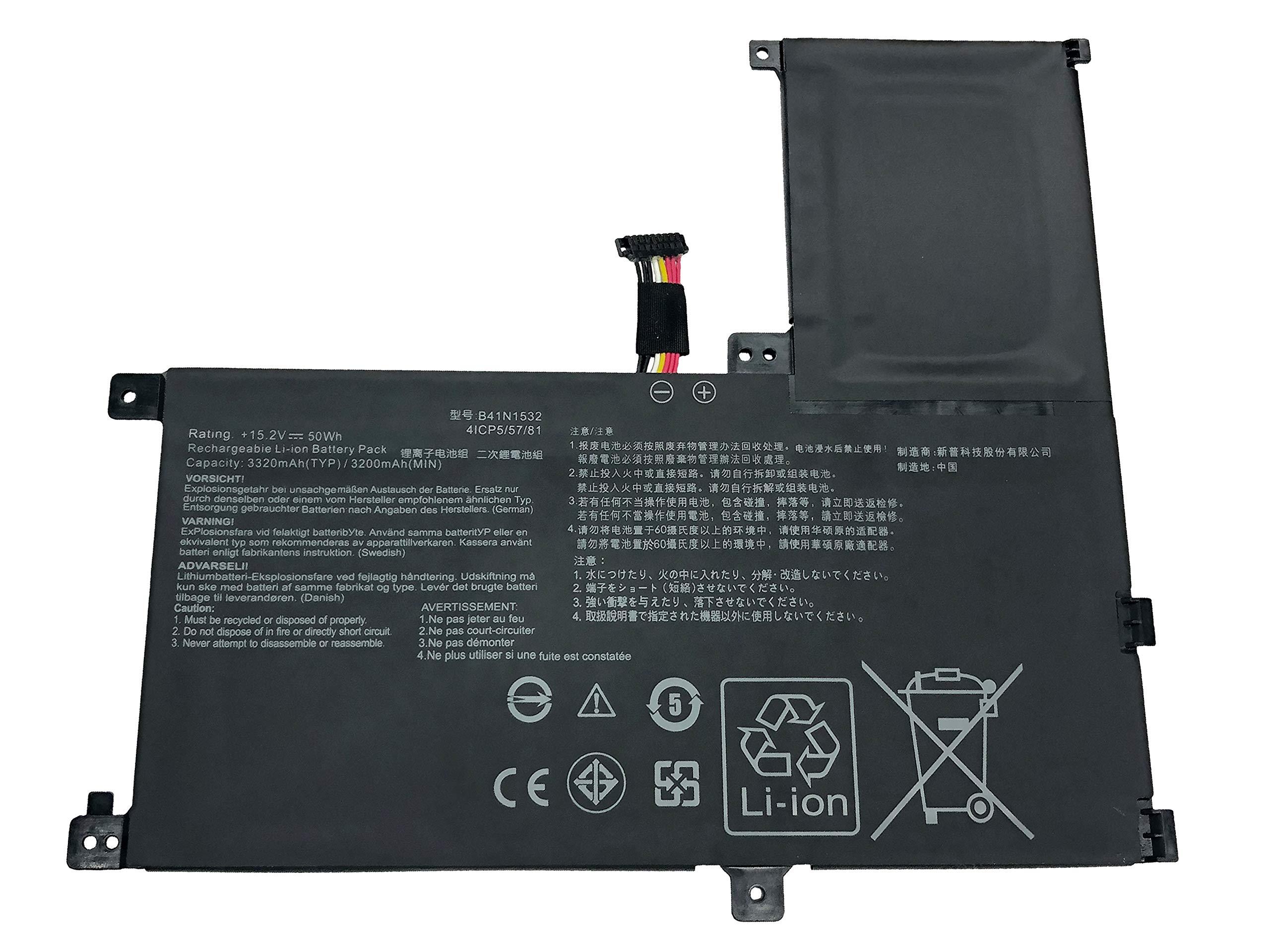 Bateria B41n1532 15.2v 50wh Asus Q504ua 15.6 Series 0b200-02