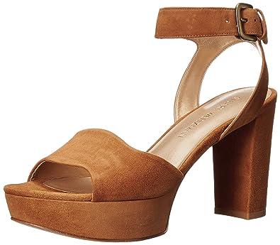 00ef0ae3996a Stuart Weitzman Women s Realdeal Platform Sandal Camel 9 M US
