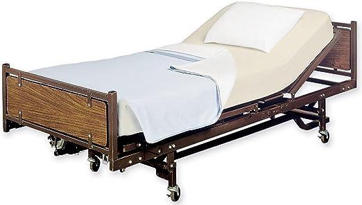 Sábana bajera ajustable cama de hospital Hoja, Twin Extralargo 36 ...