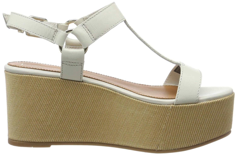 Sandalias con Plataforma para Mujer Tommy Hilfiger Elevated Leather Flatform Sandal