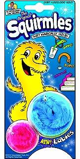 amazon com nuolux 6pcs magic worm toys wiggly twisty fuzzy carnival