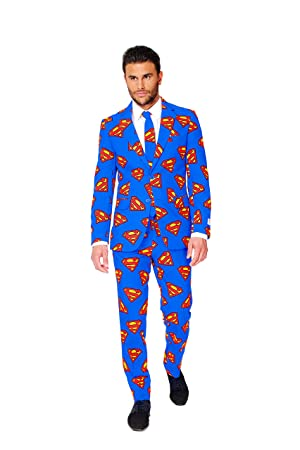 Traje de Superman Opposuit - 52: Amazon.es: Ropa y accesorios