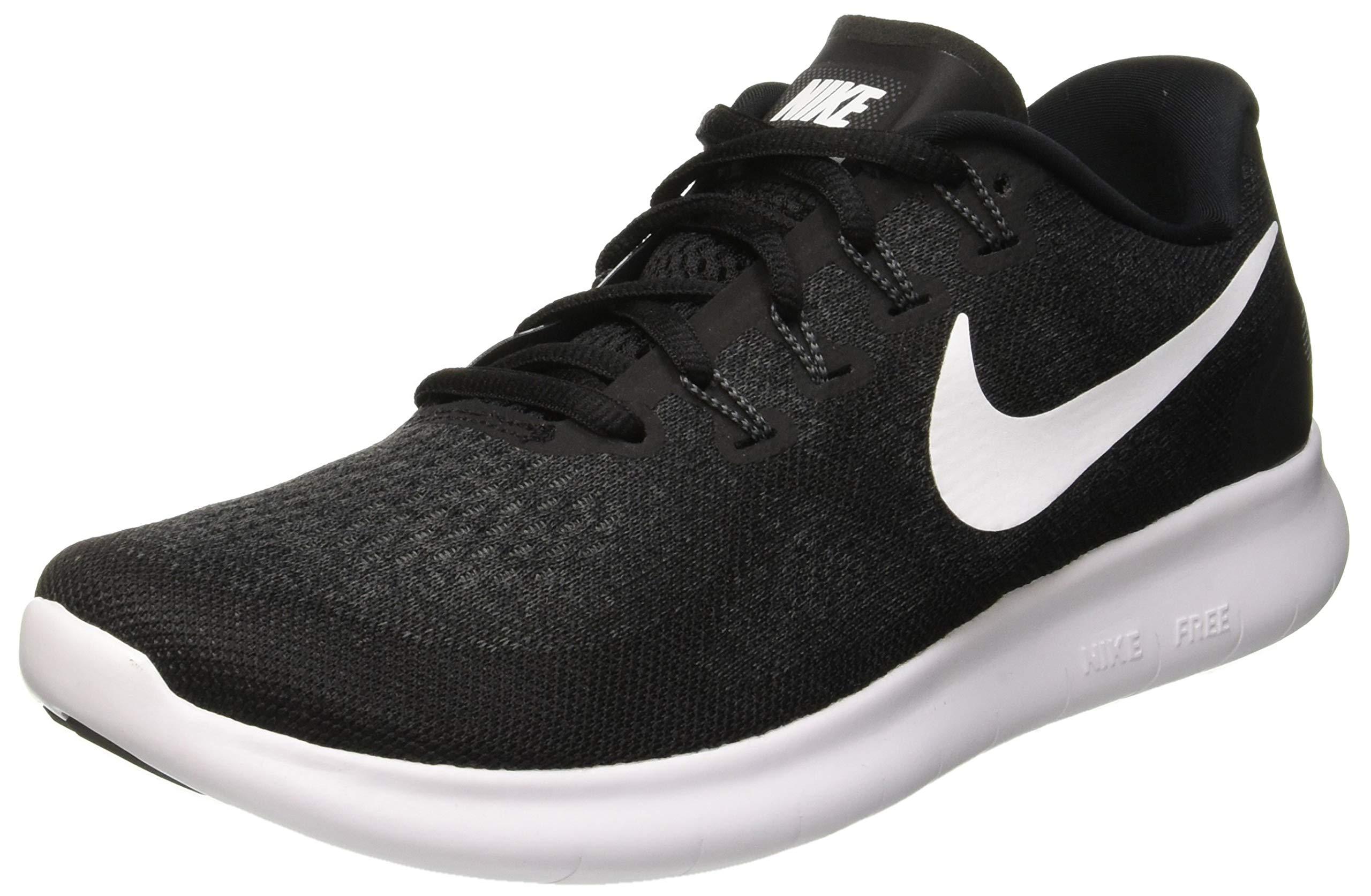 Nike Free RN 2017 Black/White/Dark Grey/Anthracite Womens Running Shoes