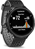 Garmin Forerunner 235 GPS Running Watch with Elevate Wrist Heart Rate and Smart Notifications, Black/Grey