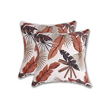 Amazon.com: COMHO - Juego de 2 fundas de almohada con diseño ...