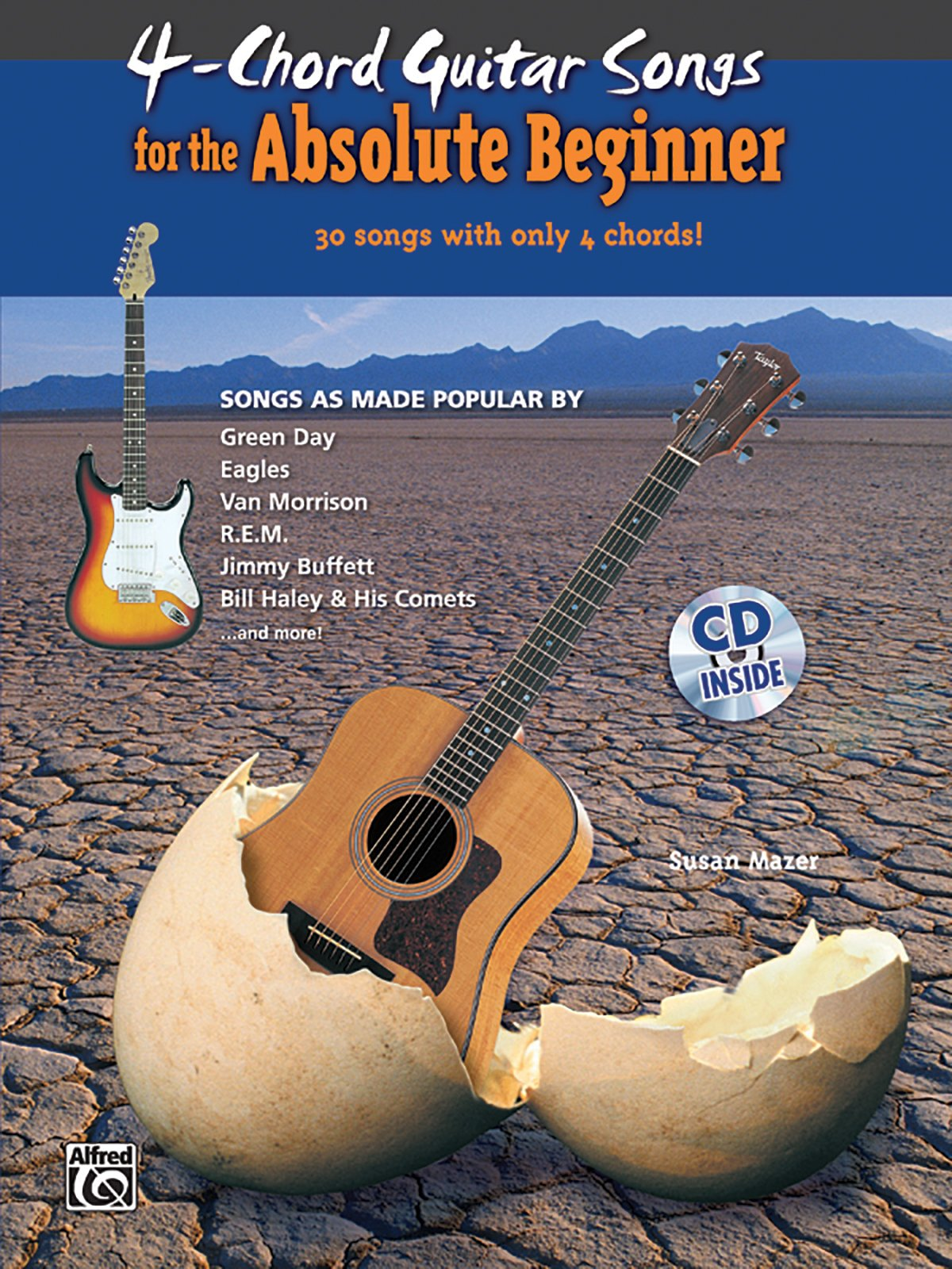 4 Chord Songs For The Absolute Beginner Book Cd Absolute