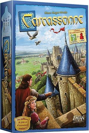 Asmodee - Carcassonne, CARC01 N: Amazon.es: Juguetes y juegos