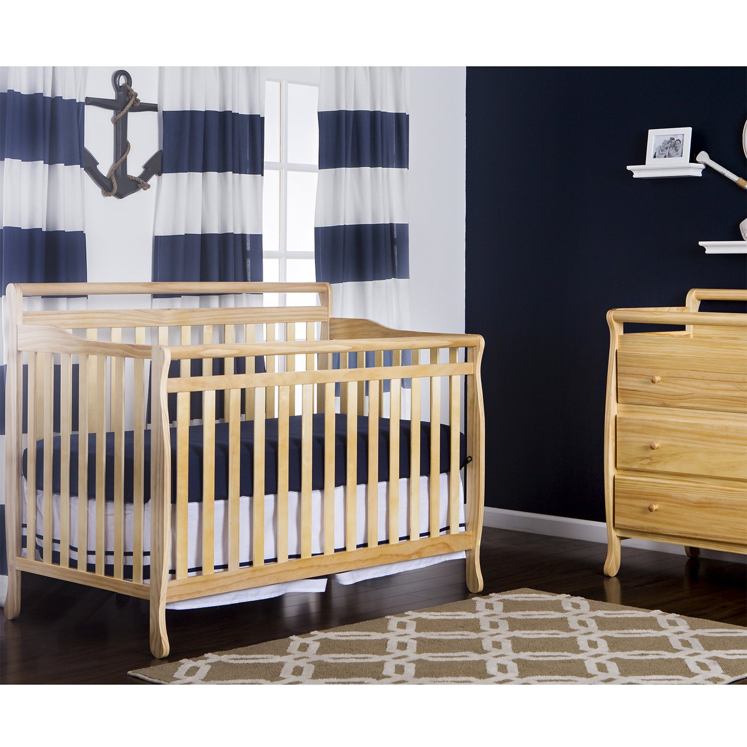 collections furniture natural finish sparrow llc cribs oeuf crib products white