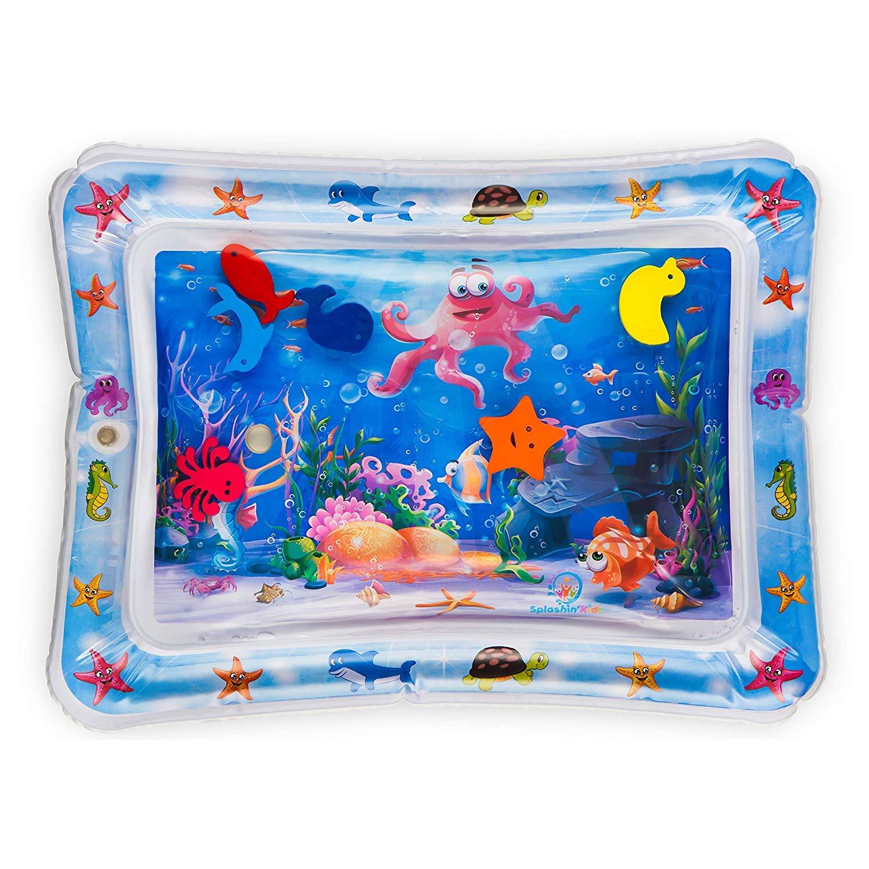 Exceed Tapete inflable de agua para beb/és Tummy Time Inflatable Baby Water Mat Estera del juego de PVC a prueba de fugas para beb/és Ni/ños peque/ños