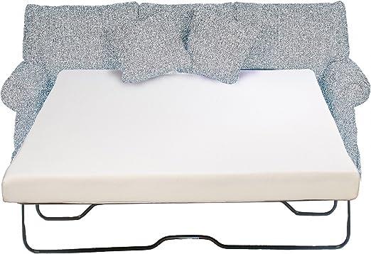 Amazon.com: Sleeper sofá colchón 4.5 inch Espuma de memoria ...