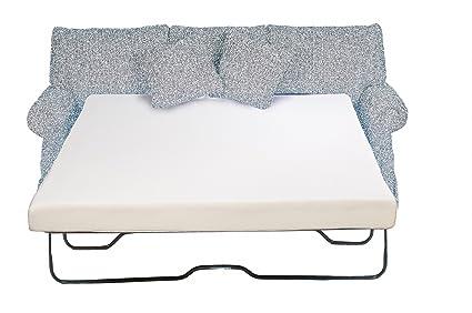 Foam Mattress Sleeper Sofa.Eco Ultimate Premium Sleeper Sofa Memory Foam Mattress Size Queen 60 X 72