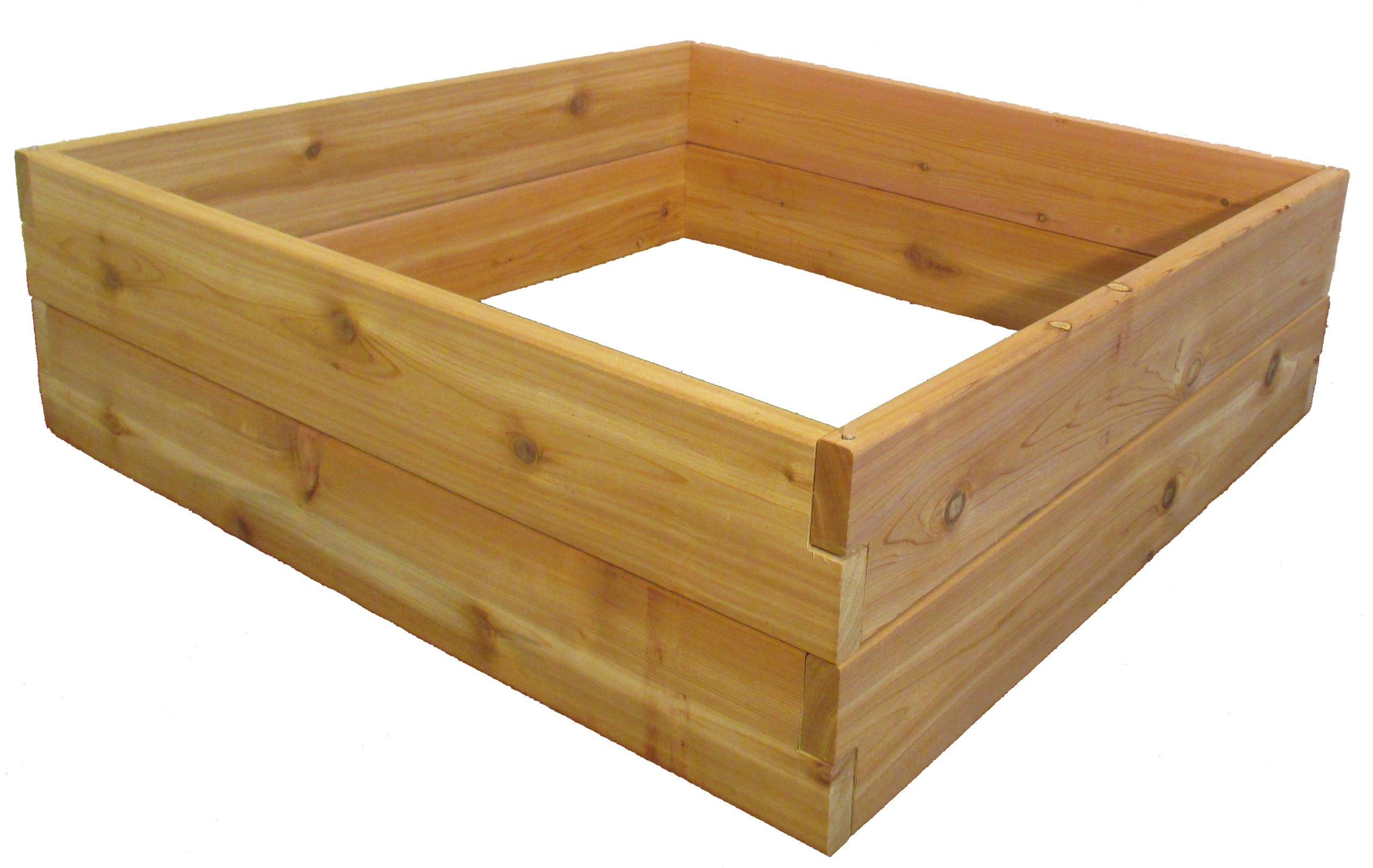 Raised Bed Garden Kit 3'x3'x11'' By Infinite Cedar by Infinite Cedar