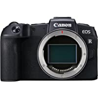 Canon EOS RP Compact System Mirrorless Camera with Mount Adapter