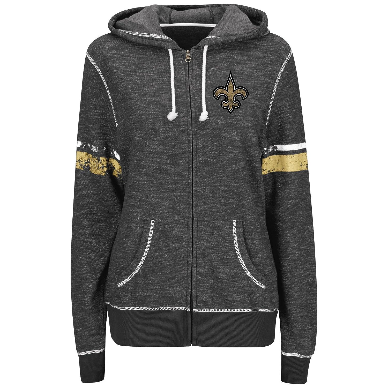 Amazon Com Majestic New Orleans Saints Women S Athletic