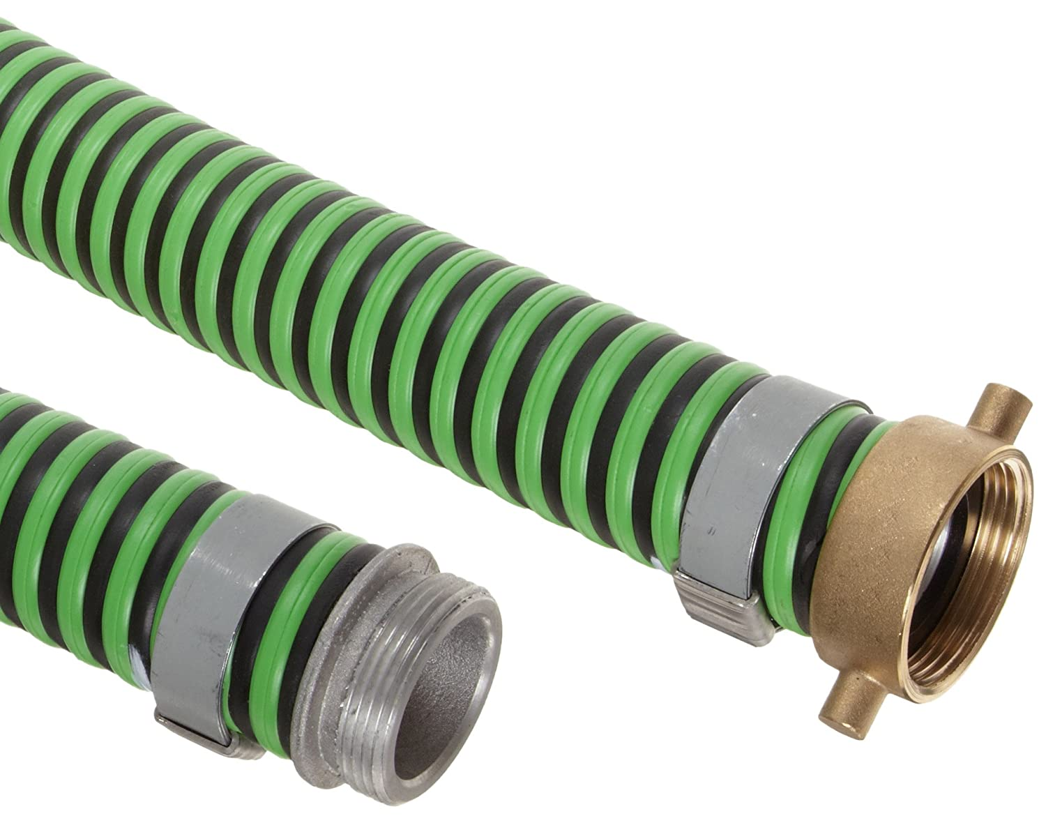 Goodyear EP Green Hornet XF Rubber Suction//Discharge Hose Assembly 2 Aluminum Male x Brass Female Swivel Connection 50 PSI Maximum Pressure 20 Length 2 ID 2 Aluminum Male x Brass Female Swivel Connection 20/' Length 2 ID GH200-20MF-G