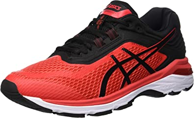 Amazon.com: Asics Gt-2000 6 para hombre, rojo: Shoes