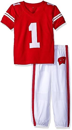 NCAA niños TODDLER/Uniforme de fútbol Junior Pijama - UW1521, Rojo