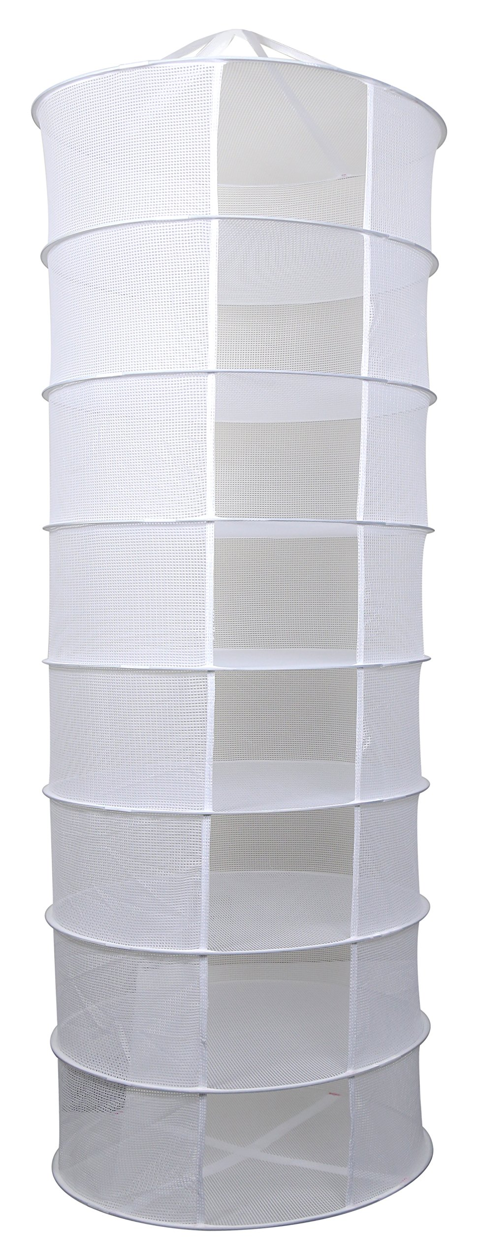 Apollo Horticulture 2ft 8 Layer Collapsible Mesh Hydroponic Drying Dry Rack Net by Apollo Horticulture