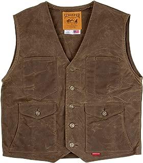 product image for Schaefer Ranchwear 316 RANGEWAX Mesquite Vest