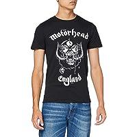 Rock Off Motorhead Men's England Regular Fit Round Collar Short Sleeve T-Shirt