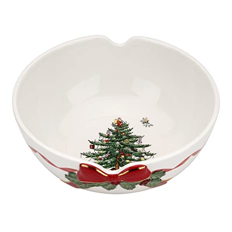 Spode Christmas Tree Ribbon Bowl - Amazon.com Spode Christmas Tree Ribbon Bowl: Serving Bowls