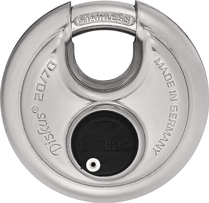 Amazon.com: ABUS 20/70 - Discos de acero inoxidable con ...