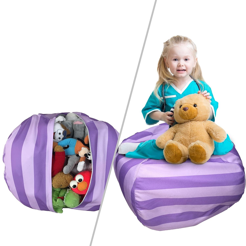Amazon Stuffed Animal Storage Bean Bag Chair